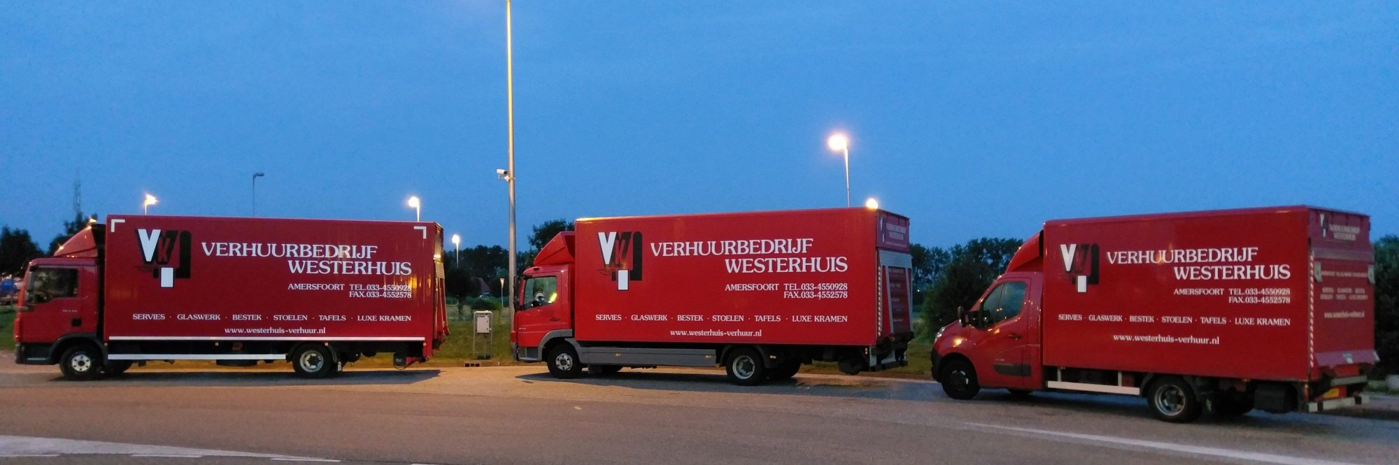 Vrachtwagens Verhuurbedrijf Westerhuis